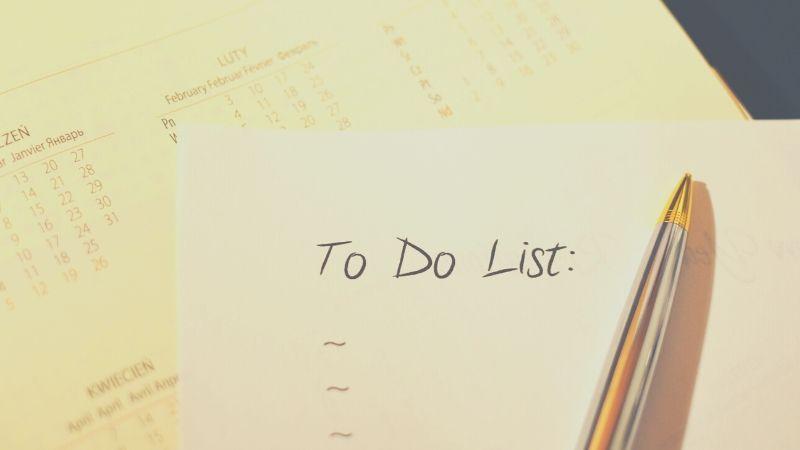 【画像】自分時間のためのやることリストの作り方