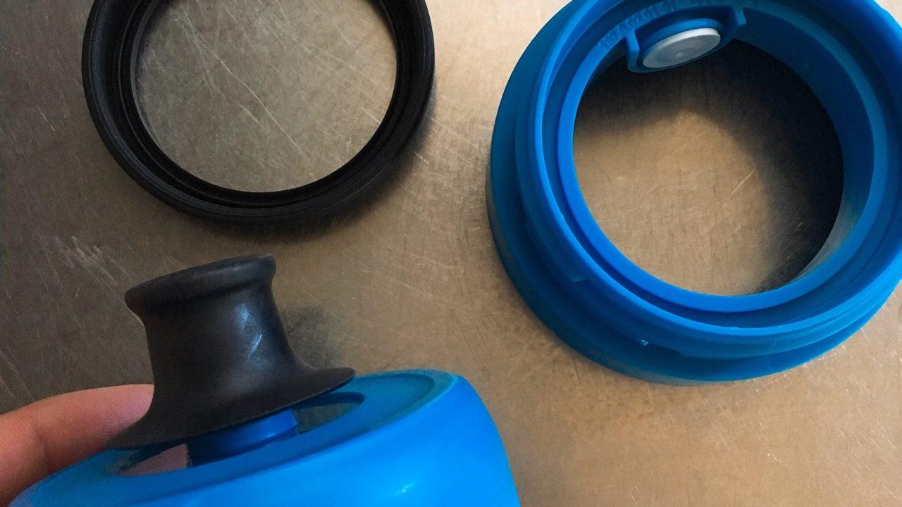 ブリタ水筒のパッキン部分の写真