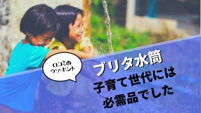 【ブリタ水筒の口コミのウソ・ホント】ブリタ水筒は子育て世代には必需品でした!