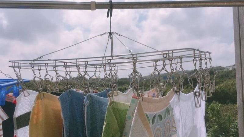 【画像】1日分のタオルの洗濯量の写真