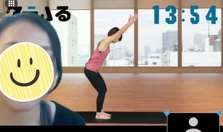 【画像】クラムるのレッスン画面